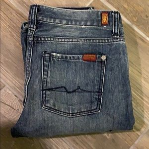 7 For All Mankind Boys Bootcut Jean size 14